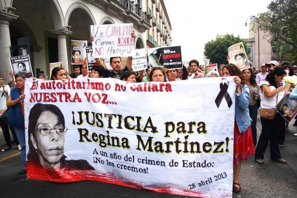 Regina Martínez, una voz que ni la impunidad de los criminales apaga
