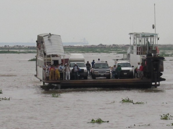Transbordador opera con normalidad en Coatzacoalcos