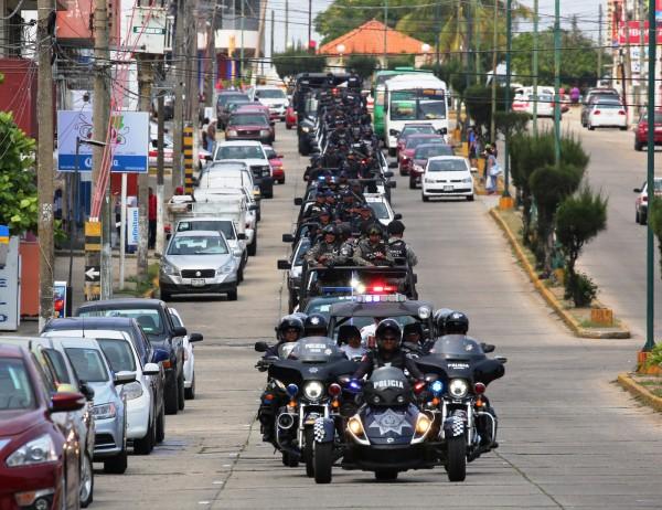 Carranza prevé reforzamiento a estrategia de seguridad en Coatzacoalcos