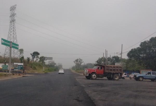 Trasciende enfrentamiento a balazos en la desviación a Oteapan