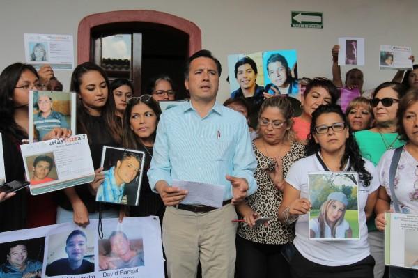 Desde 2018, 20 reuniones de CGJ con familiares de personas desaparecidas