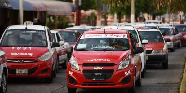 Taxistas esperan baja demanda en Veracruz en Carnaval 2020