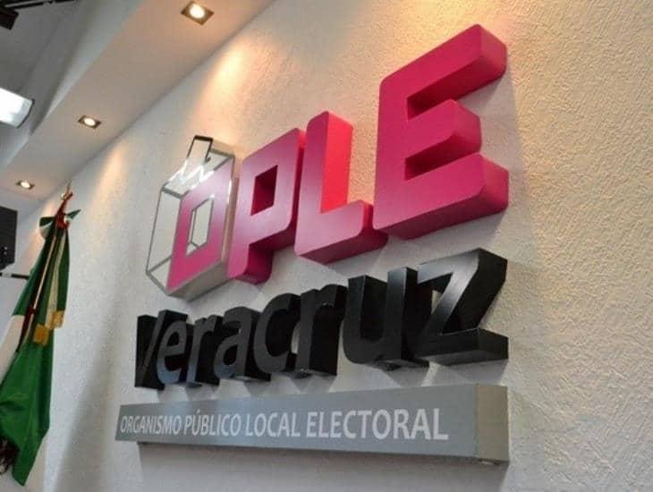 Cuatro nuevos partidos en Veracruz recibirán dinero público a partir del 1 de julio