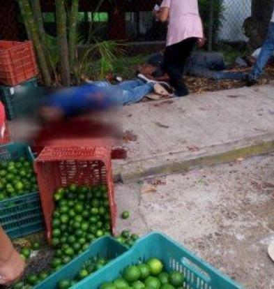 Ataque del crimen a sitio de comercio de limón en Tuzamapan deja 5 muertos y 5 heridos