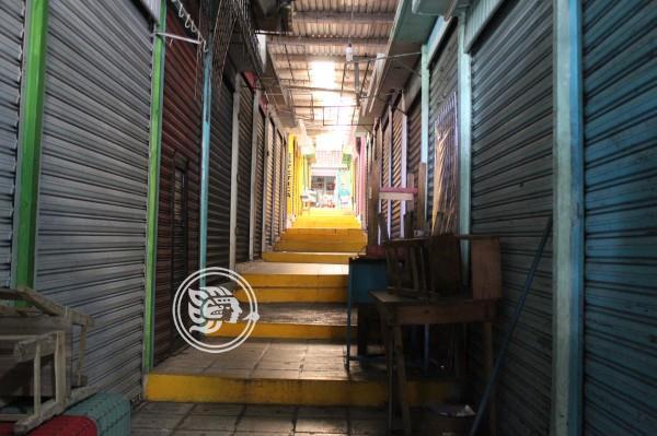 Pandemia obligó que cerraran 10 locatarios en Mercado Plaza del Sol