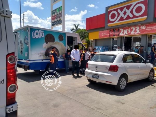 Delincuentes consuman dos robos con violencia en Acayucan