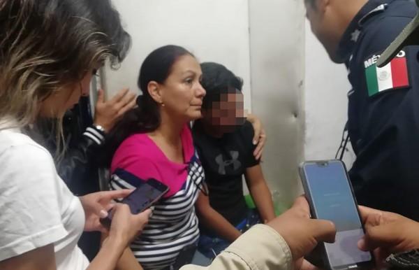 Hallan a  niño desaparecido en Xalapa; sufrió secuestro virtual