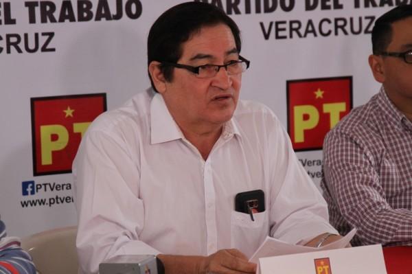 Deplora PT falta de obras en Xalapa; exige a Hipólito trabajar
