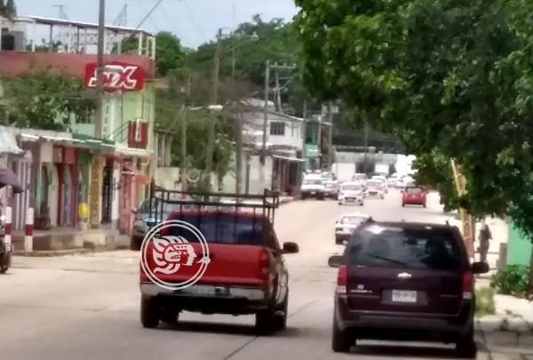 Plagian a vendedora de aguas frescas en Minatitlán