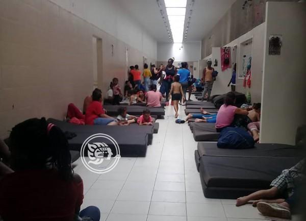 INM impide intervención de la CEDH en estación de Acayucan