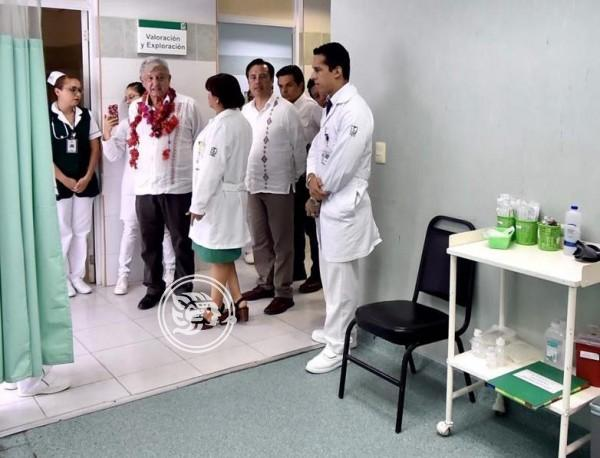 Se rehabilitarán y construirán 156 clínicas en Veracruz: Cuitláhuac