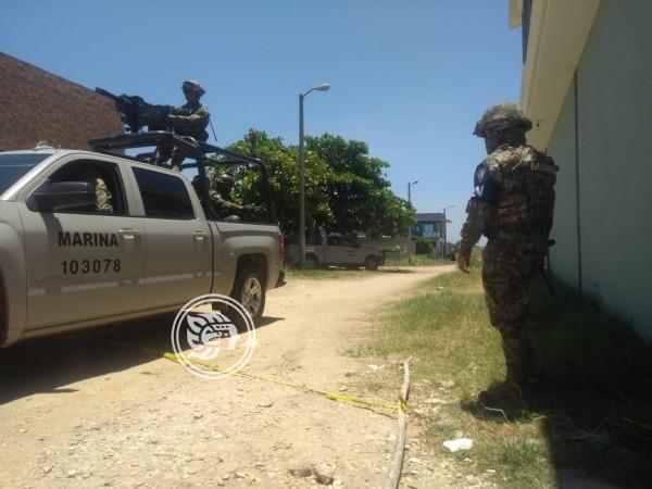 Guardia Nacional detiene a padre e hijo por robo en Coatzacoalcos
