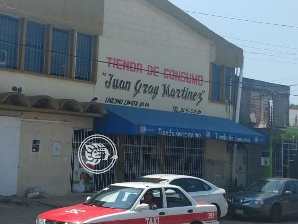 Cierran tienda de Consumo de la sección 11 en Nanchital