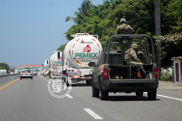 Moviliza refinería Lázaro Cárdenas gasolina para Sureste