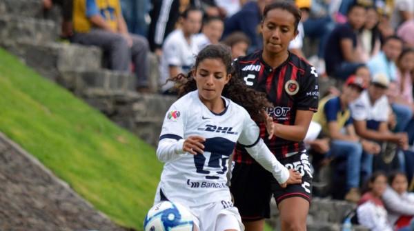 Veracruz Femenil empata con Pumas y mantiene paso firme