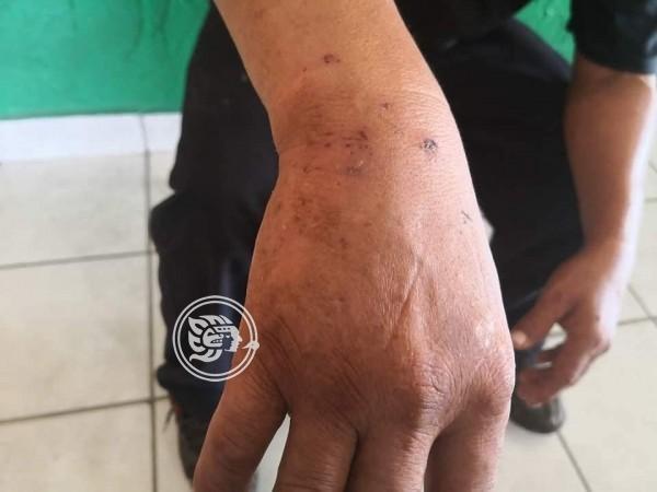 Compañeros de parranda violan a campesino en Soteapan