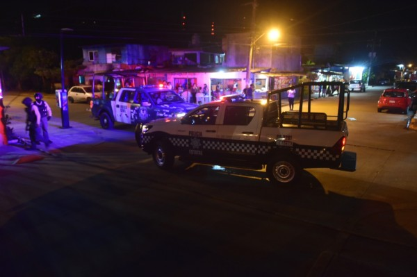 Mujer es víctima colateral de tiroteo en Coatzacoalcos
