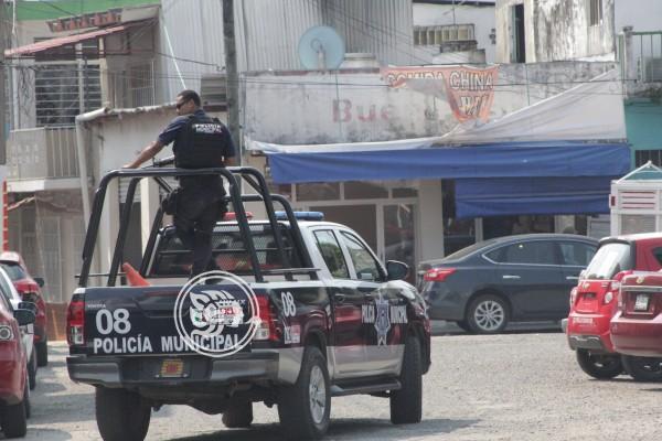 Ante altos índices de violencia, policías hace recorridos en Las Choapas