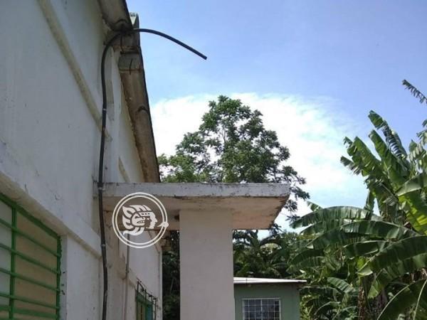Vandalizan instalaciones de Ángeles Humildes en Texistepec