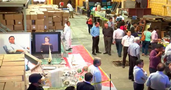 Desaparecen bienes incautados por Yunes a Javier Duarte