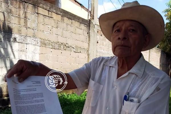 Campesinos exigen que CFE pague daños a parcelas en Cosolea