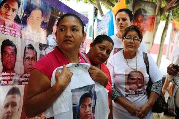 Donde están nuestros hijos; así pasan su día madres de desaparecidos