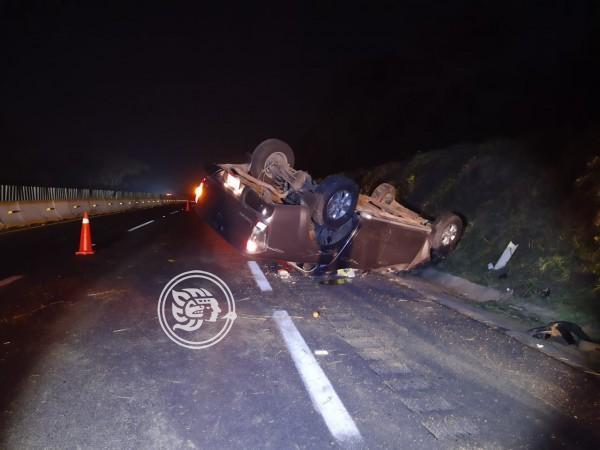 Trampas del hampa provocan fatal accidente en tramo Isla-Acayucan