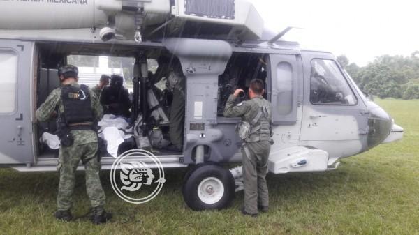 Descartan que trampa causara el accidente de militares en Acayucan