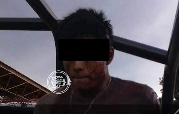 Mató a su esposa por reclamarle manutención en Mecayapan