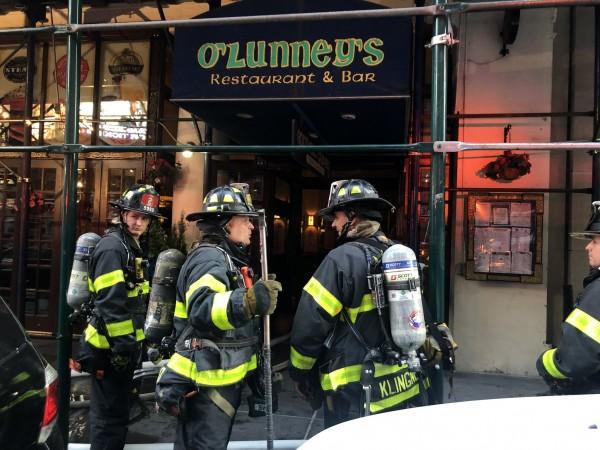Alerta en Nueva York por incendio en un rascacielos del Times Square