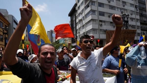 Sindicatos de Ecuador niegan diálogo con Moreno y dicen que protesta seguirá