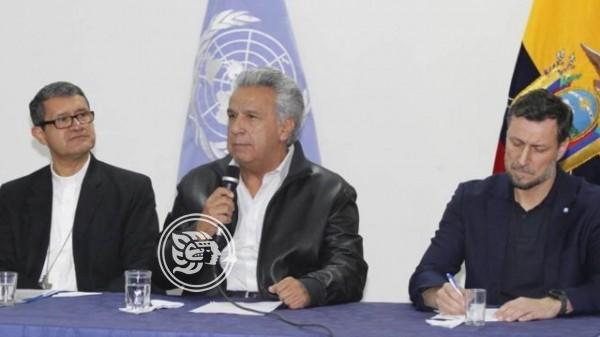 Presidente de Ecuador cede a protestas y cancela 'gasolinazo'