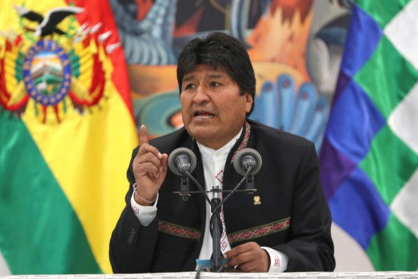 Declara Evo Morales estado de emergencia y denuncia intento de golpe de Estado