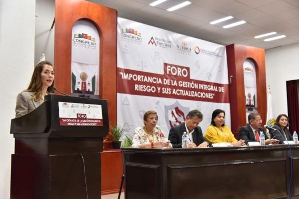 Exhorta diputada Ana Miriam a fortalecer capacitación en protección civil