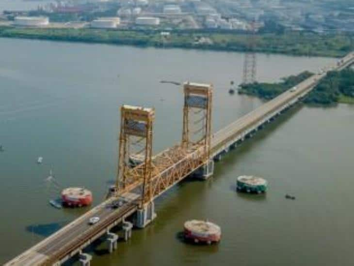 Gobierno de la 4T invertirá 8 mdp en mantenimiento al Puente Coatzacoalcos 1