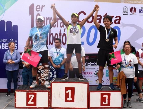 Celebran con carrera atlética el Día Mundial de la Diabetes