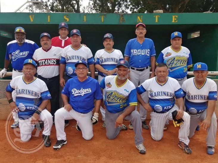 Mariners  y Tigres por el pase a la final del softbol de Jubilados