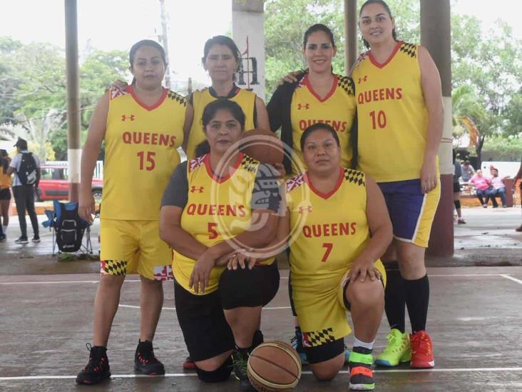 Las Queens están imparables en el Basquetbol Femenil Máster