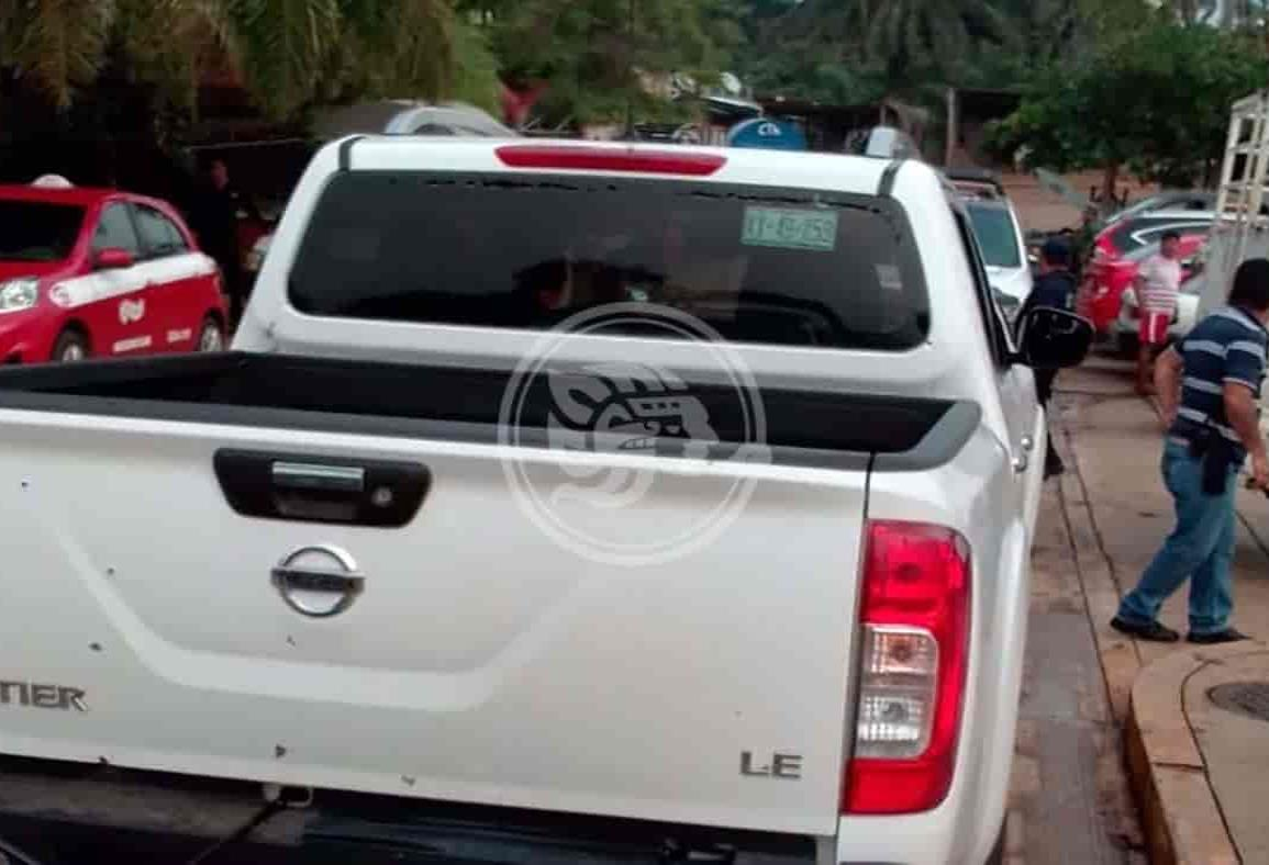 Hombres armados agreden a síndico de San Pedro Soteapan