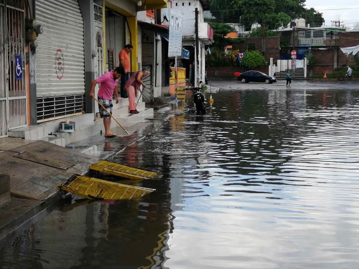 Lluvias en Veracruz afectan a 11 municipios  y causan derrumbes y 3 muertes