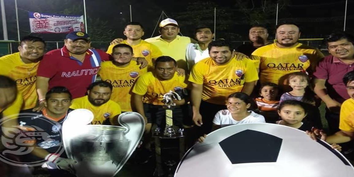Ayuntamiento conquistó el título del Futbol Empresarial y Dependencias