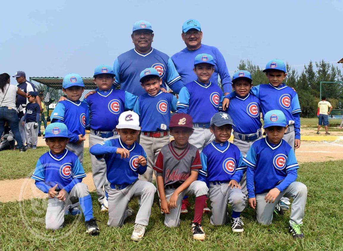 Cachorros repite en la fina del Beisbol Infantil y Juvenil