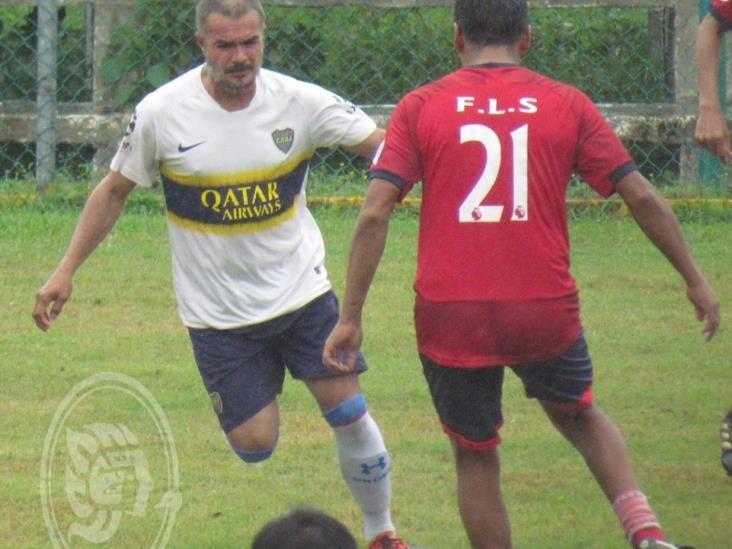 Rojos avanzó a semifinales en el futbol Más de 40 años
