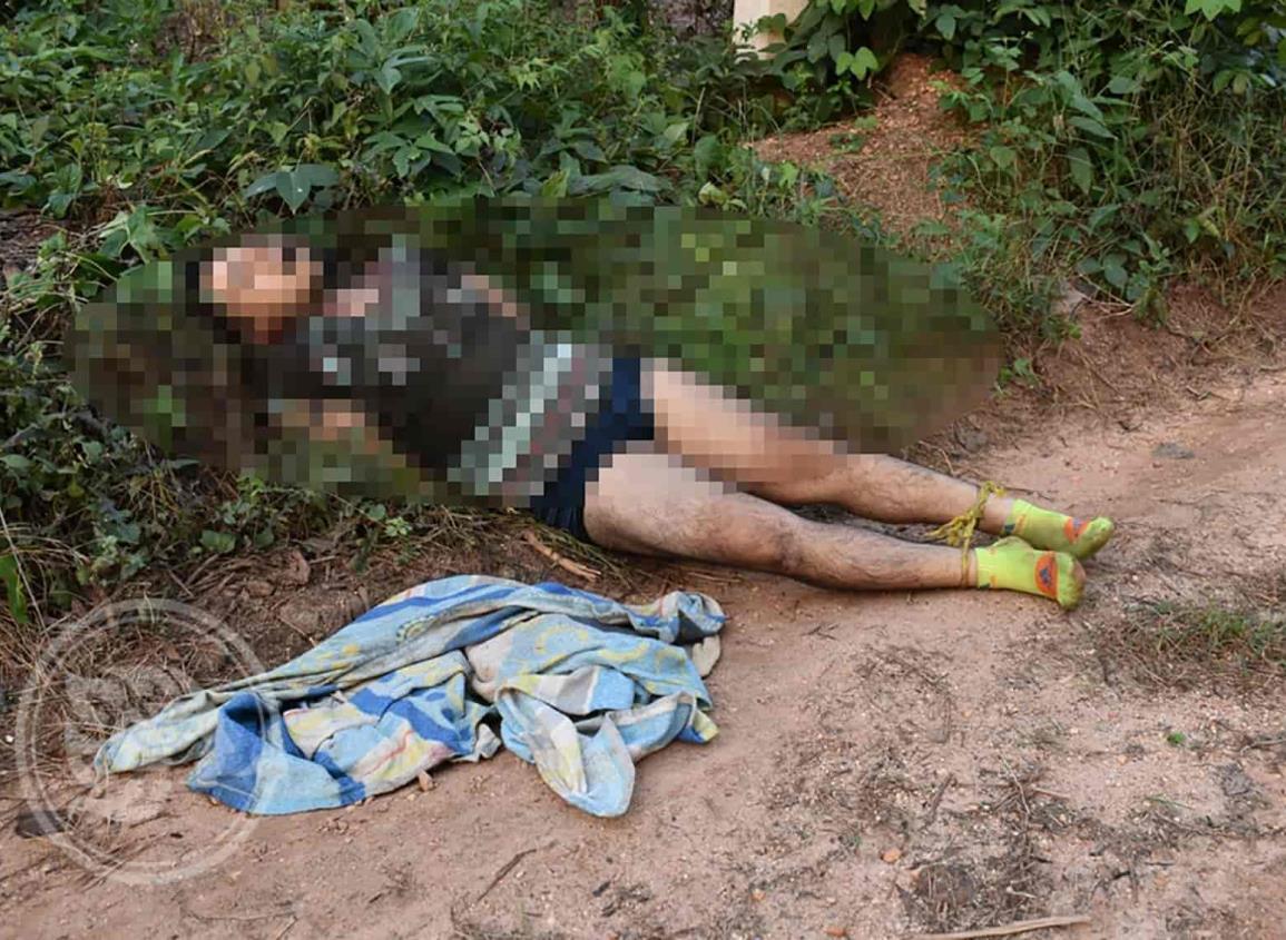 Localizan a joven asesinado en comunidad de Acayucan