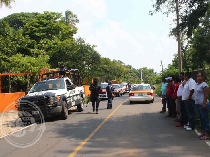 Persecuciones a balazos consternan en Agua Dulce y Las Choapas