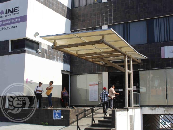 INE suspende servicios en Coatzacoalcos