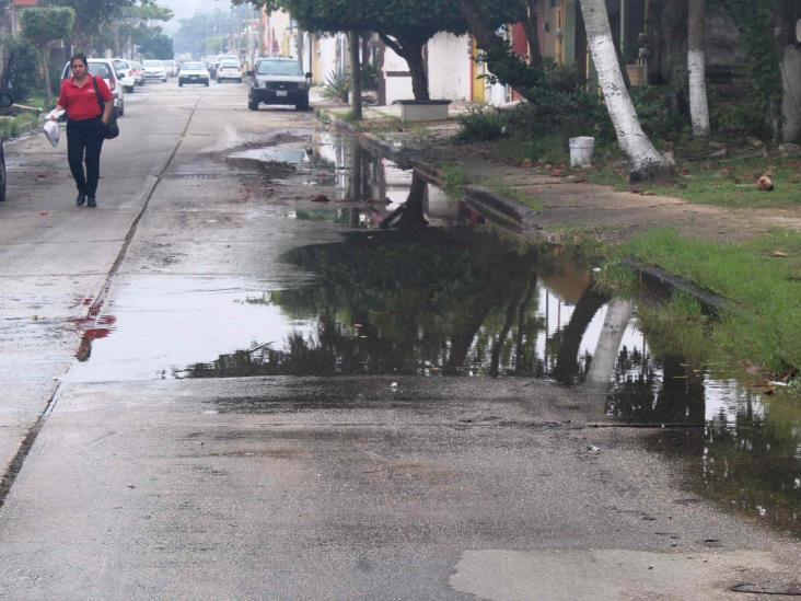CAEV omiso ante problema de aguas negras en Coatzacoalcos