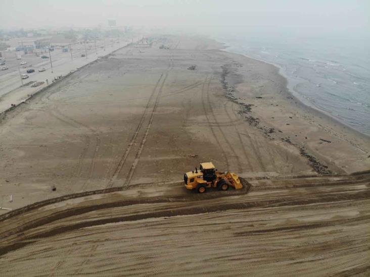 Vandalizan proyecto de universitarios en la playa de Coatzacoalcos