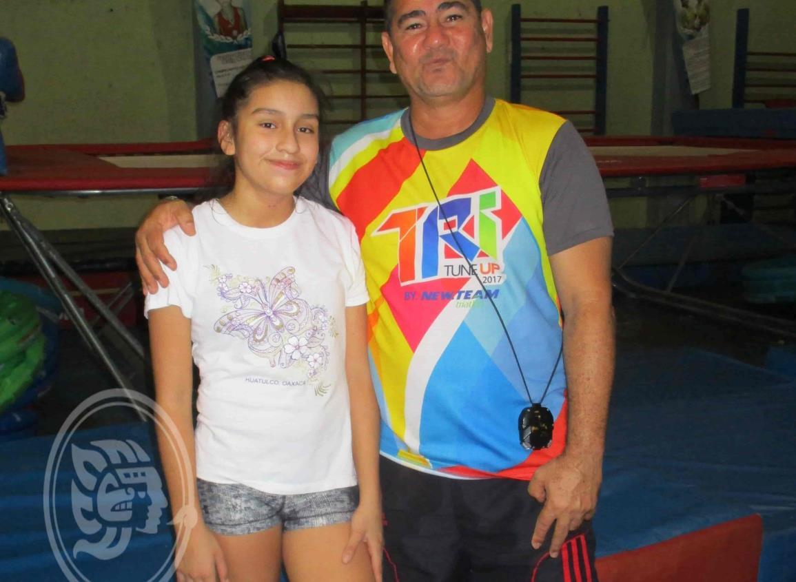 Ivanna puede ganar en Tokio la  medalla en sincronizados