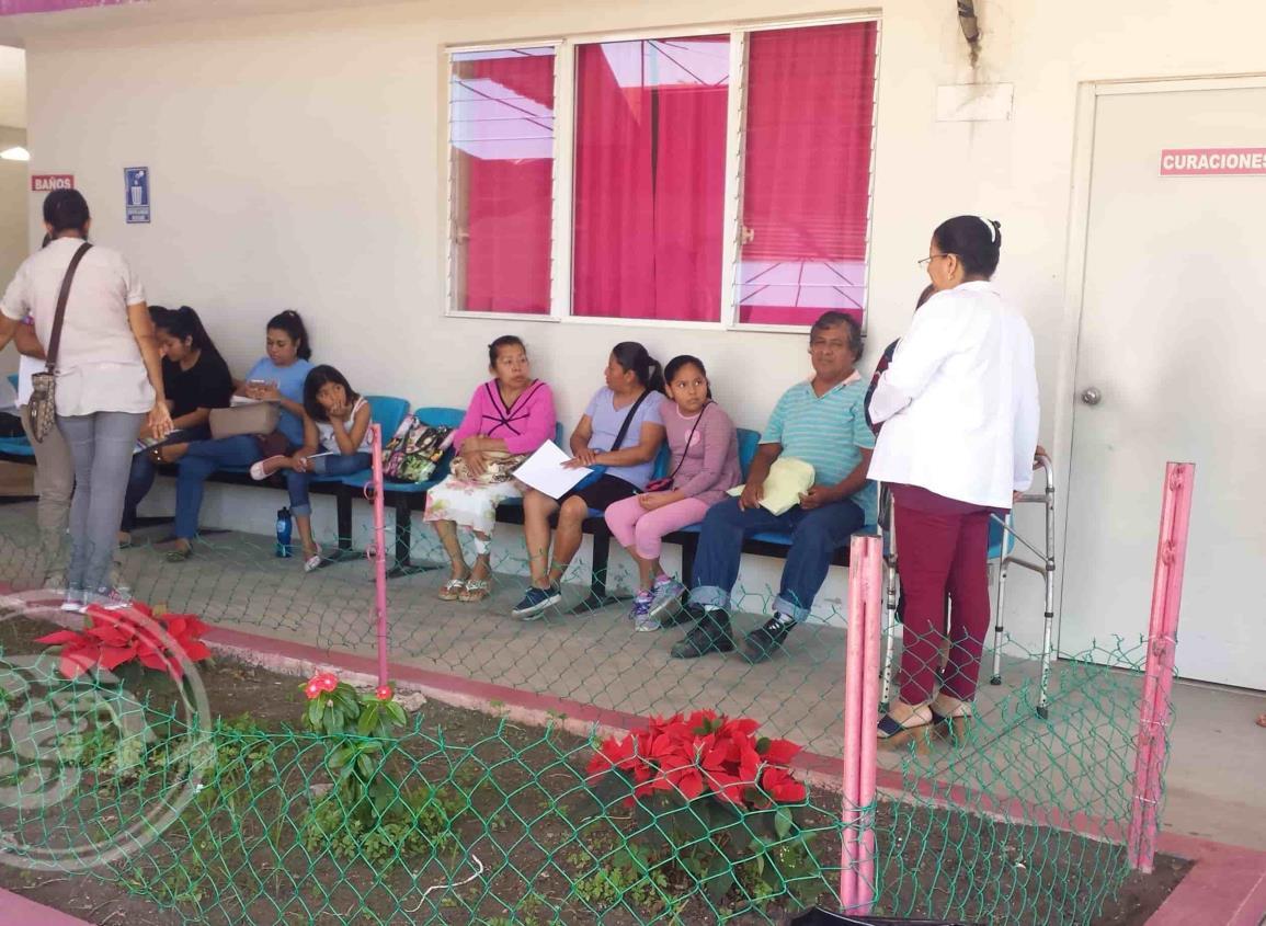 Minatitlán tiene 20 mil dosis contra influenza